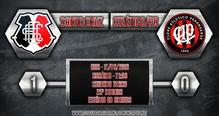 SANTA CRUZ 1x0 Atlético/PR