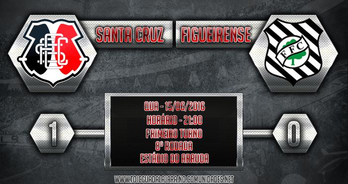 SANTA CRUZ 1x0 Figueirense