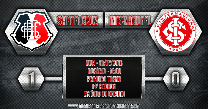SANTA CRUZ 1x0 Internacional