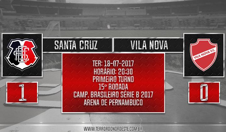 SANTA CRUZ 1x0 Vila Nova