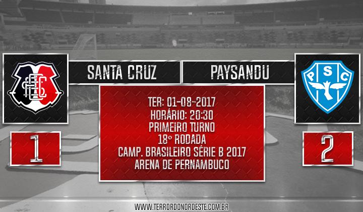 SANTA CRUZ 1x2 Paysandu