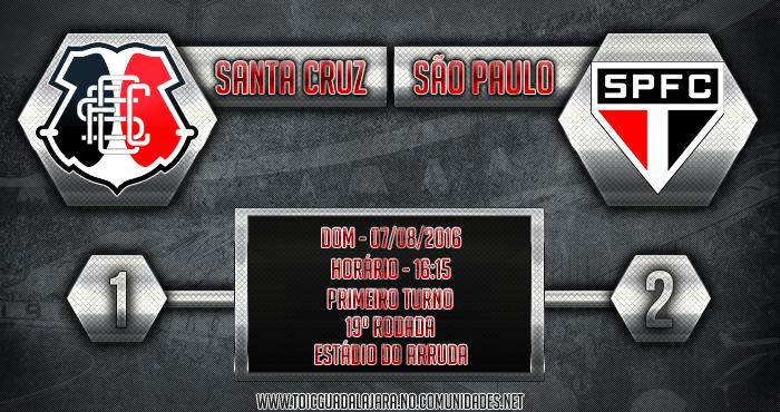 Santa Cruz 1x2 São Paulo