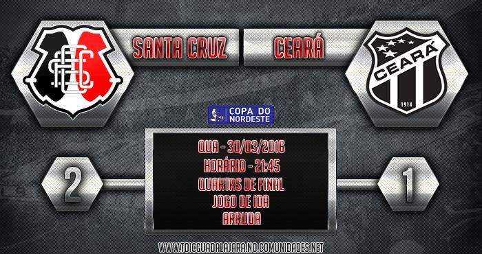 Santa Cruz 2x1 Ceará