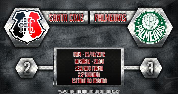 SANTA CRUZ 2x3 Palmeiras