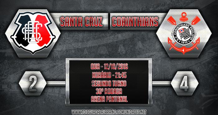 SANTA CRUZ 2x4 Corinthians