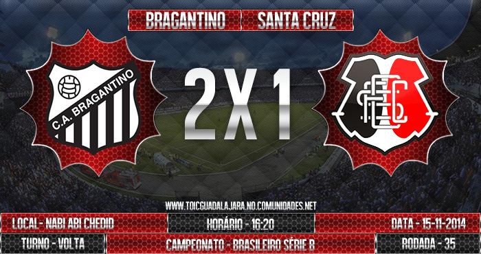 Bragantino 2x1 SANTA CRUZ