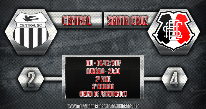 Central 2x4 SANTA CRUZ
