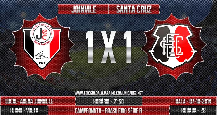 Joinville 1x1 SANTA CRUZ