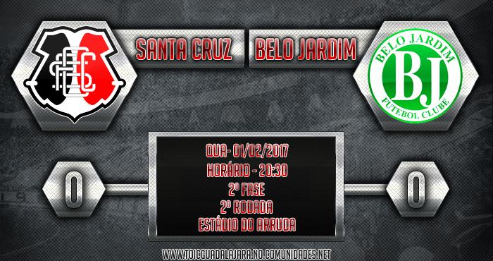 SANTA CRUZ 0x0 Belo Jardim