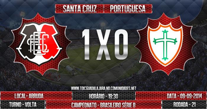 SANTA CRUZ 1x0 Portuguesa