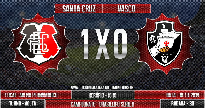 SANTA CRUZ 1x0 Vasco