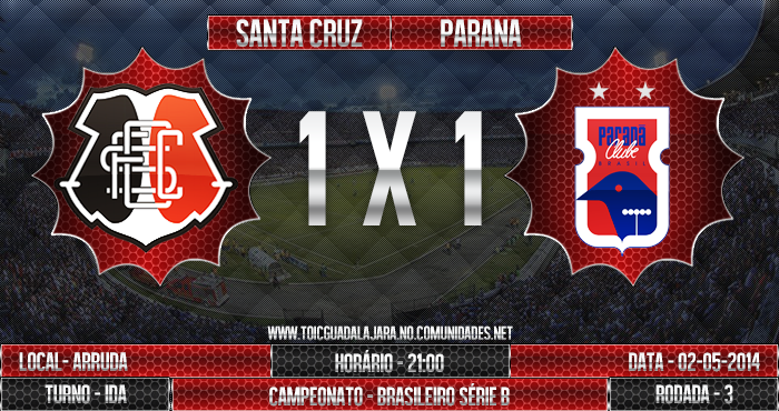 SANTA CRUZ 1x1 Paraná