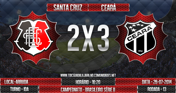 SANTA CRUZ 2x3 Ceará