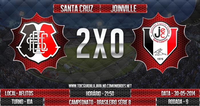 SANTA CRUZ 2x0 Joinville