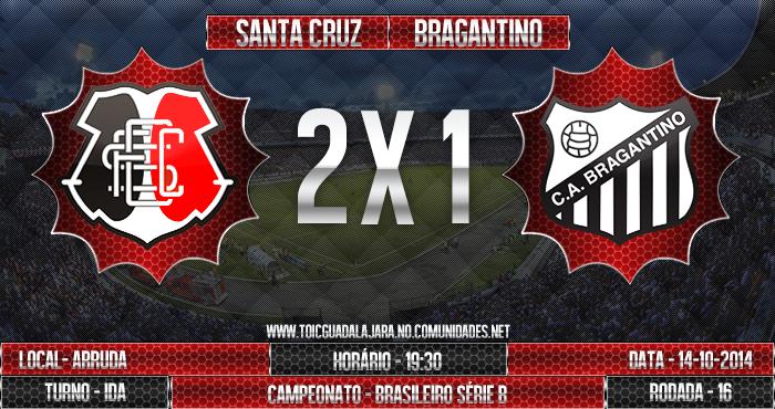SANTA CRUZ 2x1 Bragantino