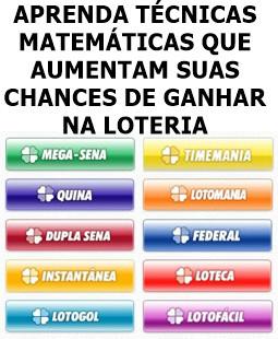 Como Ganhar Na Loteria Lotofácil Lotomania Quina Mega Sena