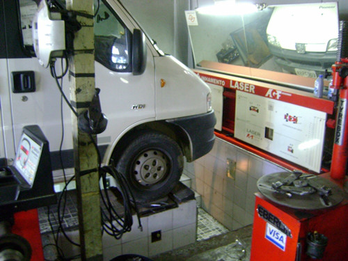 Alinhamento Balanceamento Cambagem De Vans E Carros Campinas