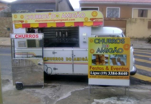 Locação De Carro De Churros Para Festas E Eventos Campinas São Paulo