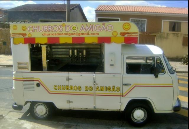 locação de carro carrinho de churros para festas Campinas São Paulo
