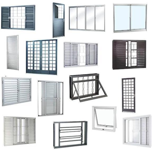Esquadrias, Fabricação De Portas E Janelas De Alumínio Campinas