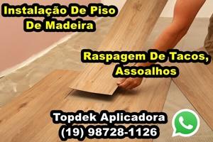Instalação De Piso De Madeira Raspagem De Tacos E Assoalhos Na Região De Campinas