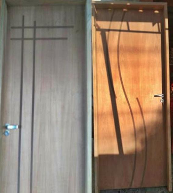Portas De Madeira Completa Com Batente Em Campinas