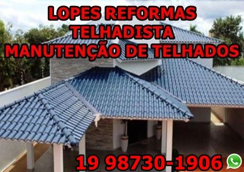 Manutenção Reforma De Telhados Em Campinas
