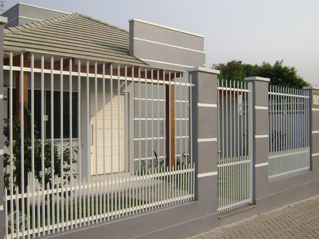 Montagem, Instalação De Grades De Ferros, Aluminio, Metalon Em Muros Em Campinas