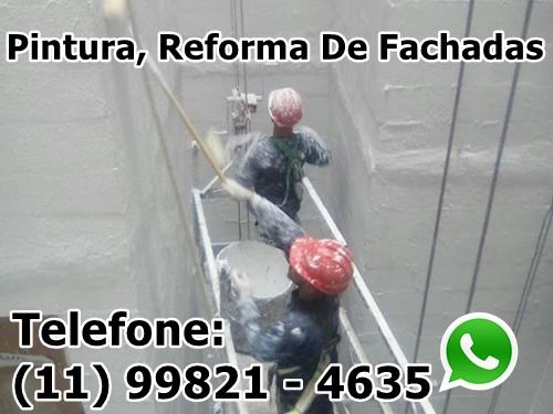 Reforma, Impermeabilização, Limpeza, Pintura De Fachadas Em São Paulo