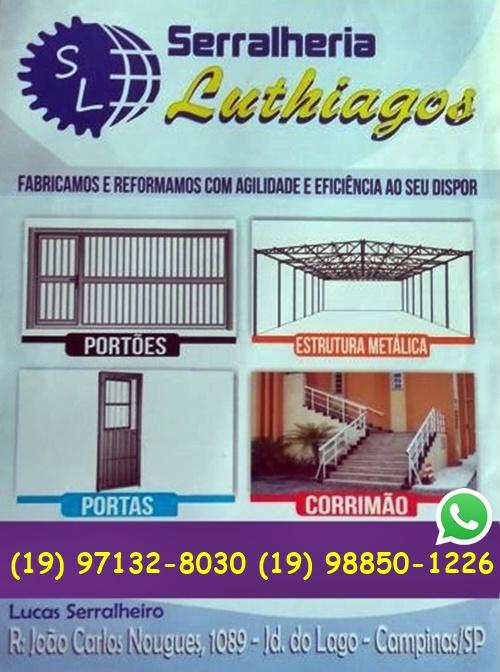 Serralheria Para Fabricação, Reforma De Portão, Grades Em Campinas
