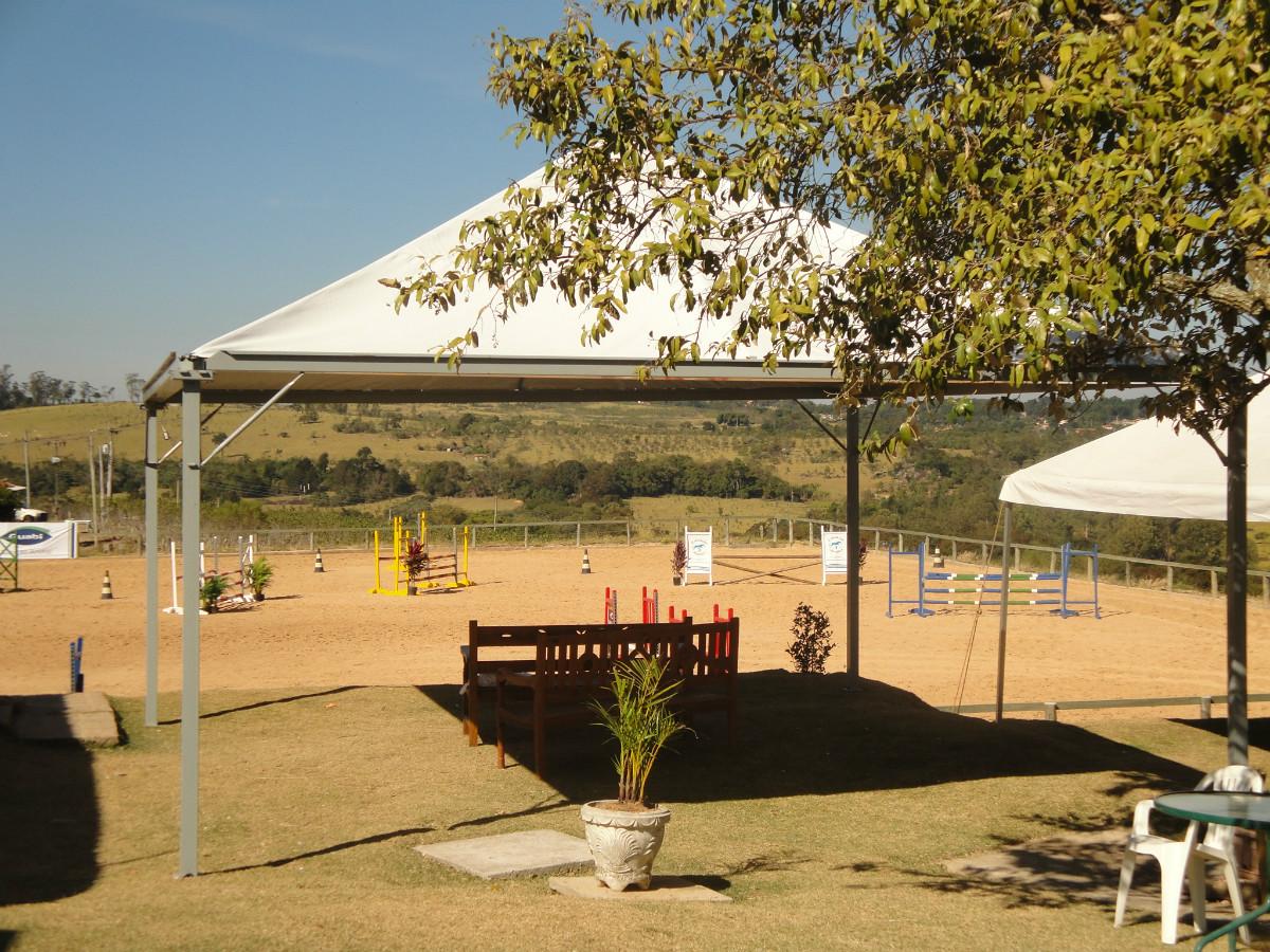 Aluguel Locação de Tendas em pano pirâmide Campinas