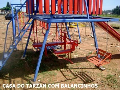 Casa do Tarzan Com Balancinhos Embaixo Campinas Hortolândia