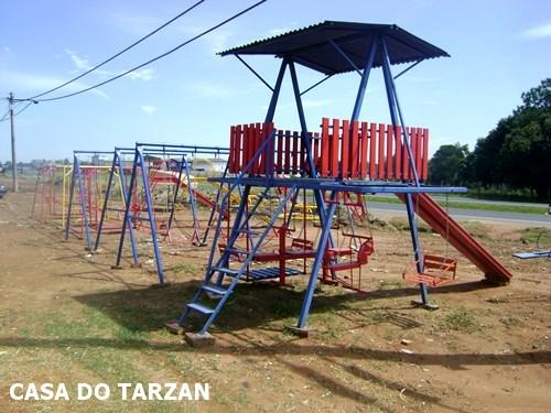 Casa do Tarzan Para Parquinhos Campinas Hortolândia
