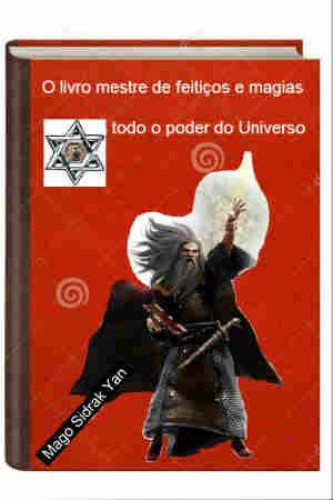 Imagem do ebook livro do mestre em feitiços e magias