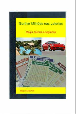 Imagem do ebook ganhar milhões nas loterias