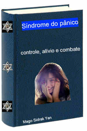 Imagem do ebook síndrome do pânico