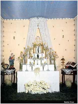 Altar Santa Cruz