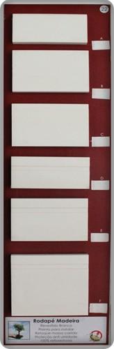 Painel 22 - Rodapé Revestido de Branco