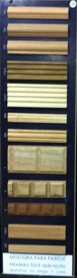 Painel 30 - Molduras de madeira Parede