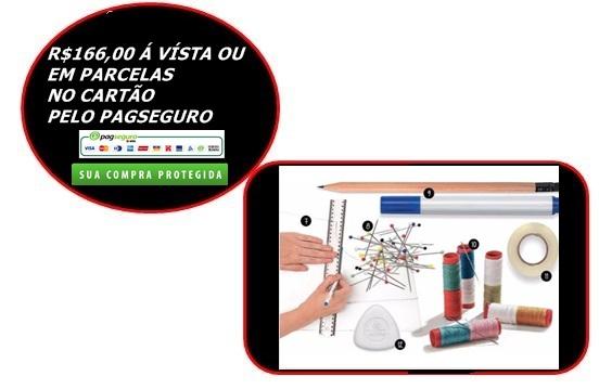 CURSO DE CORTE COSTURA 520 PÁGINAS
