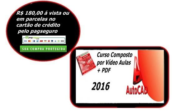 CURSO AUTO CAD 2016