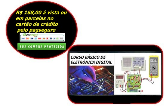 CURSO BÁSICO DE ELETRÔNICA DIGITAL