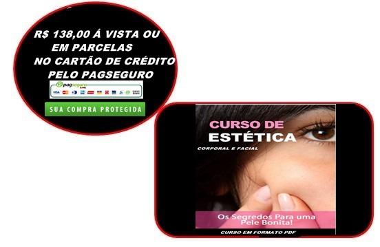 CURSO DE ESTÉTICA