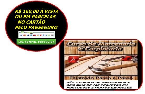 CURSO DE MARCENARIA E CARPINTARIA