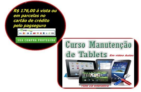 Curso de Manutenção em Tablet