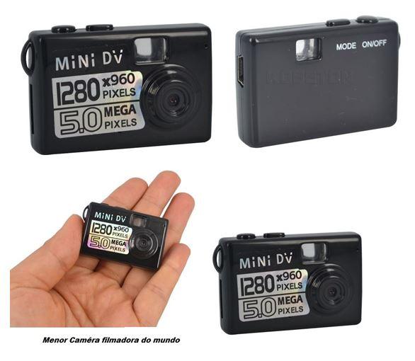 mini camera e filmadora