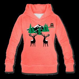 Sweatshirt tendance en hiver à capuche, pour femme