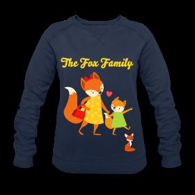 Pulls tendance pour femme, de la collection * le renard* imprimés uniques et originaux, en vente chez Zappandoo.