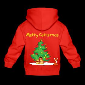 Sweaters à capuche, spécial Noël pour enfants, sur Zappandoo.