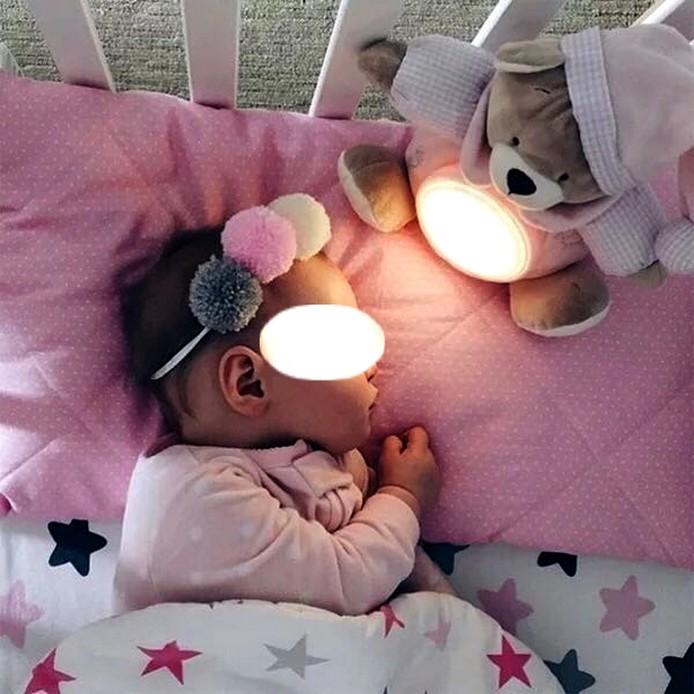En vente sur Zappandoo, veilleuse à poser sur le berceau, pour le bébé et l'enfant.